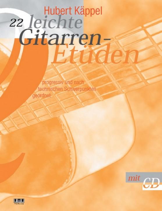22 leichte Gitarrenetüden