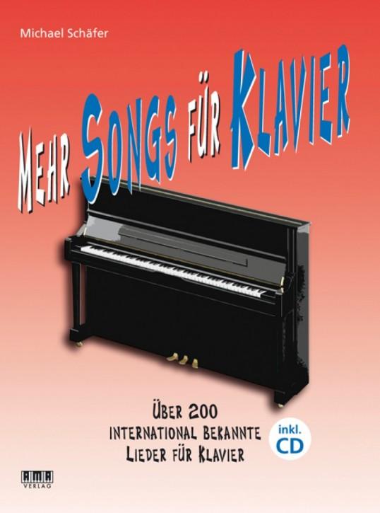 Mehr Songs für Klavier