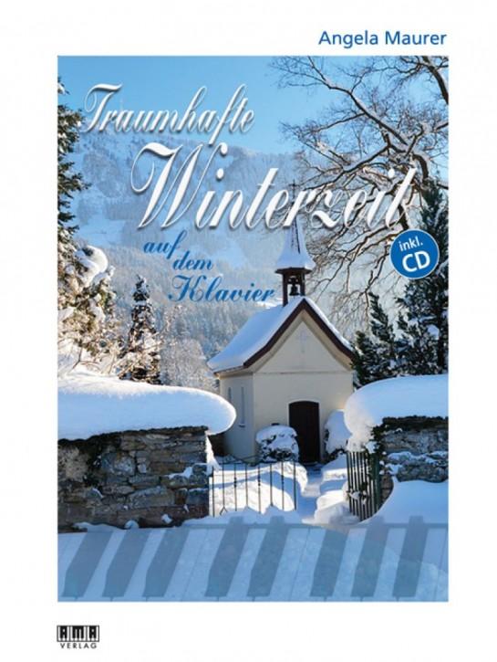 Traumhafte Winterzeit auf dem Klavier