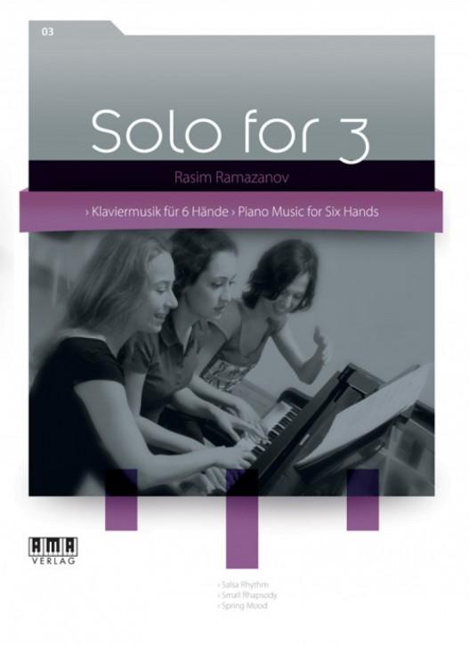 Solo for 3. Heft III